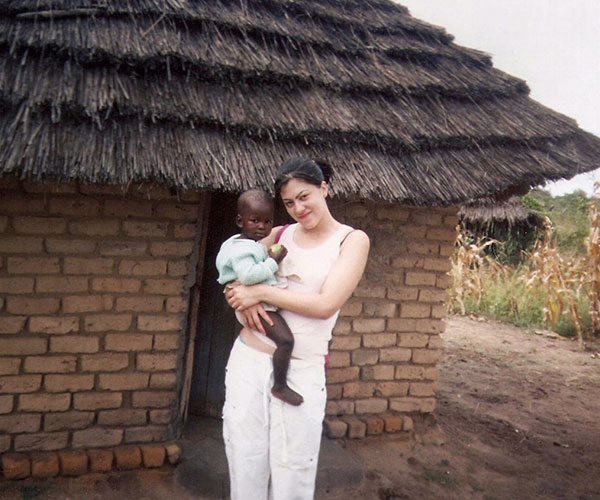 Jessica Smith in Zimbabwe